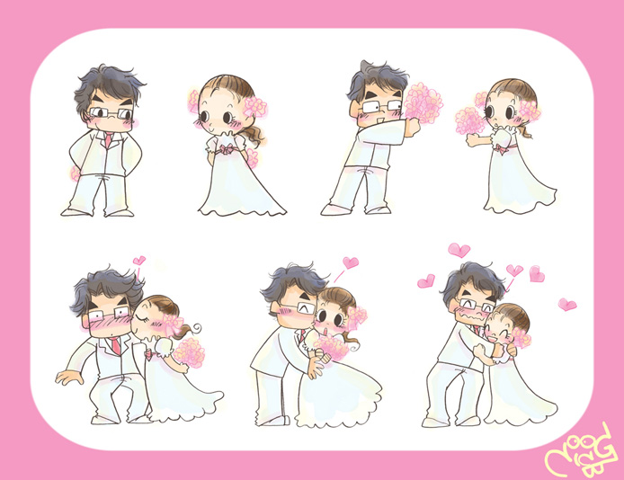 happy wedding by pinky-rabbit on DeviantArt
