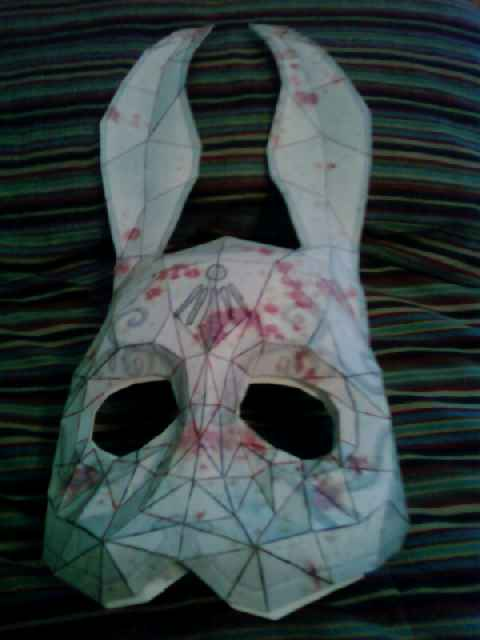 how to make a bunny mask