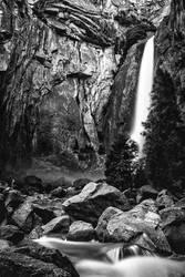 Lower Yosemite in BW