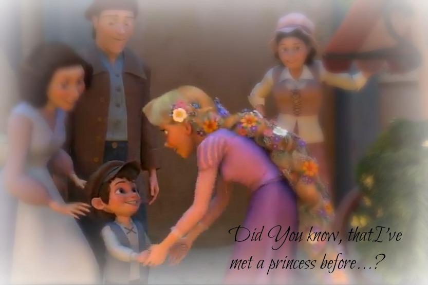 I've met a princess before... by XxRockinPrincessxX