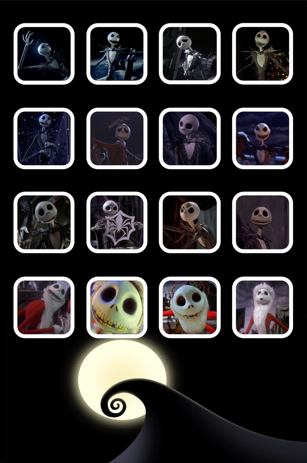 Nightmare Before Christmas Jack Ipod Wallpaper By Quarianderpy