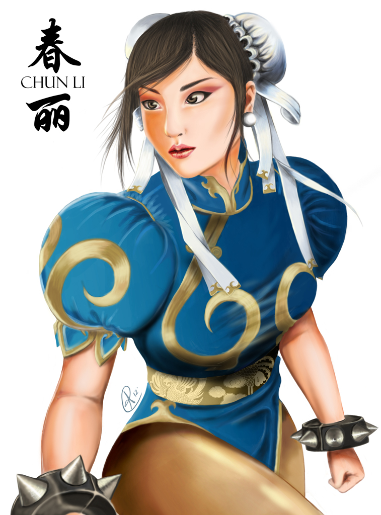 Street Fighter ~ Chun Li by neocycloid