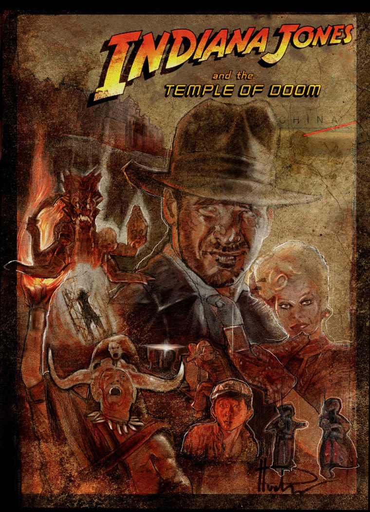 indiana jones and the temple of doom by jhudson49 on