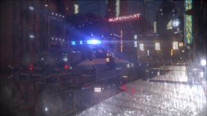 Dystopian rain by FabioMk