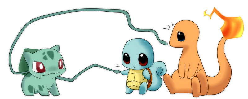 Pokemon Kanto Starters By Haydee   Apps Directories