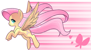 MLP - Chibi Fluttershy by haydee