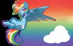 MLP - Chibi Rainbow Dash