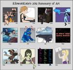 KilowattKatie's 2011 Artworks