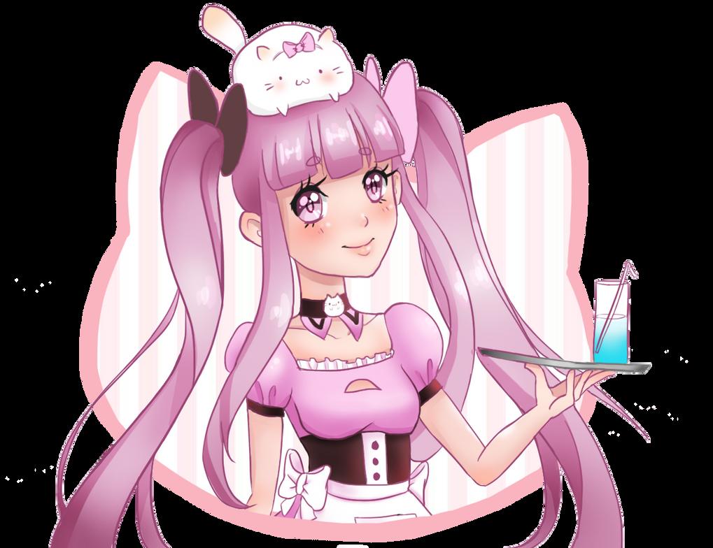 Pink Maid by RhapsodyTales