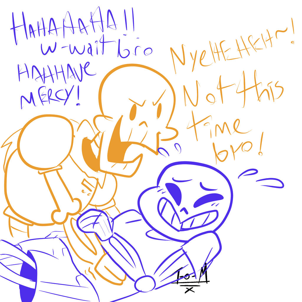 Tickle Sans: Tickle Your Funny Bone! By Tiger-of-Mirth On DeviantArt