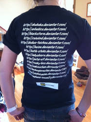Deviant T-shirt! (back) by dramioneislove17