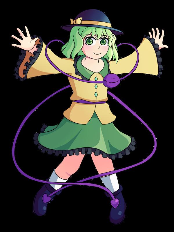 Koishi Komeiji by Ancient-Meme