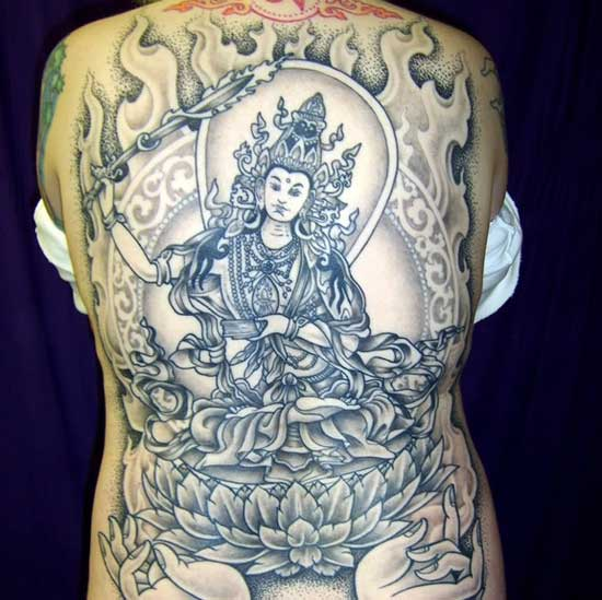 Tibetan Tattoo: Tattoo Artists On Tibetan Thangka Art By Sunapati On
