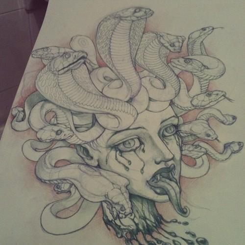 Medusa by AnnubisEyes
