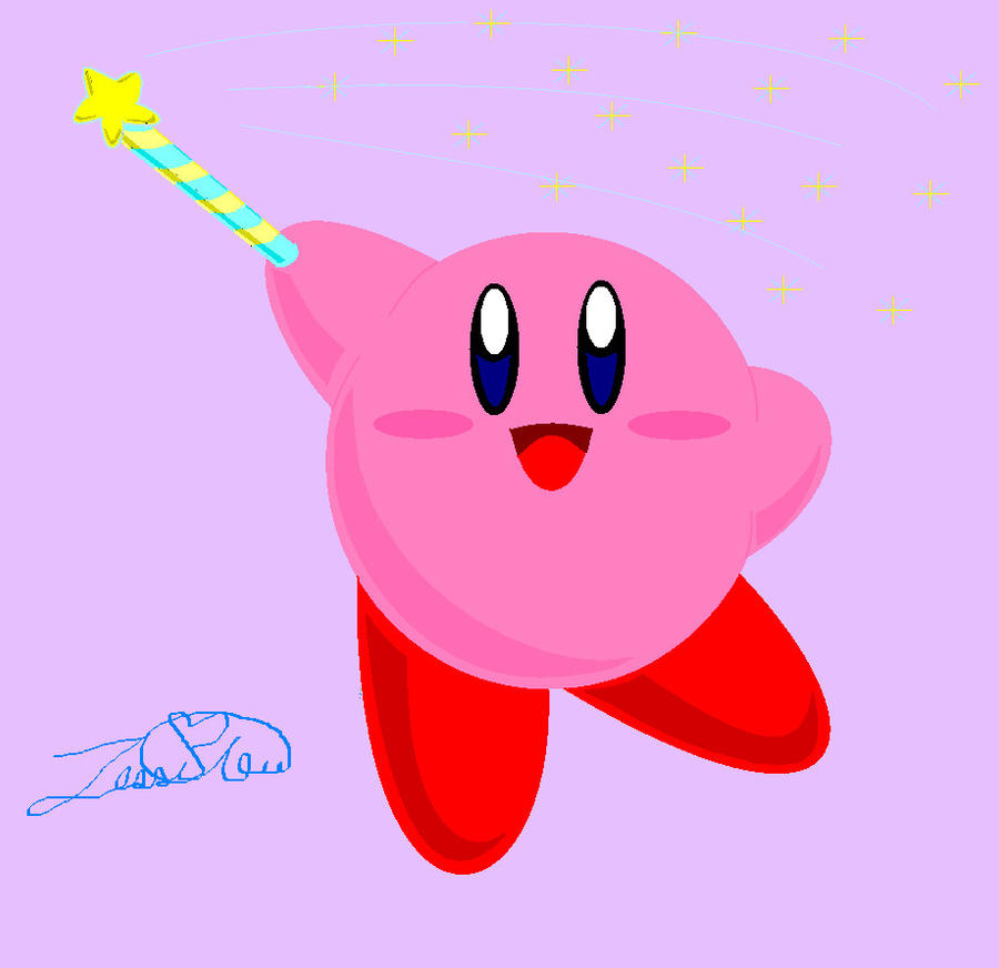 Star Rod Kirby by PikaKirby6595