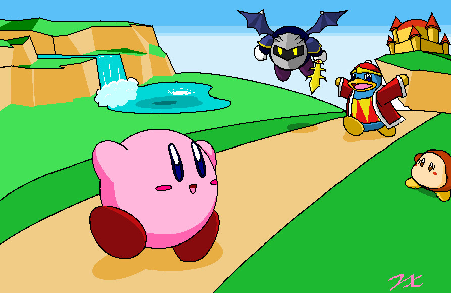Kirbys dreamland happy 20th by pikakirby6595 on deviantart kirbys dreamland happy 20th by pikakirby6595 voltagebd Image collections