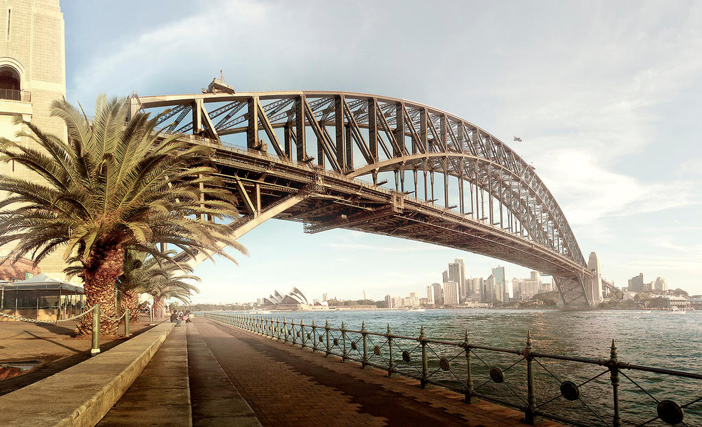 Harbourbridge Sydney by Philipp88