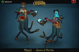 Nami LoL -  Riot contest