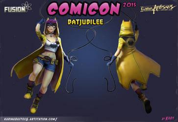 Presentation BatJubilee - Comicon 2015