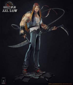 AXL LOW - Fanart - Retrogasm Competition
