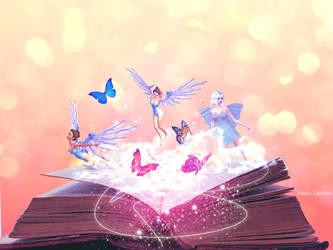 The magic of Books by paulalaloca