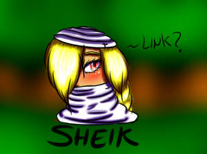 SHEIK - Tloz Oot (Fant Art)