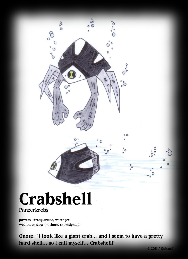Crabshell by Okamifenris