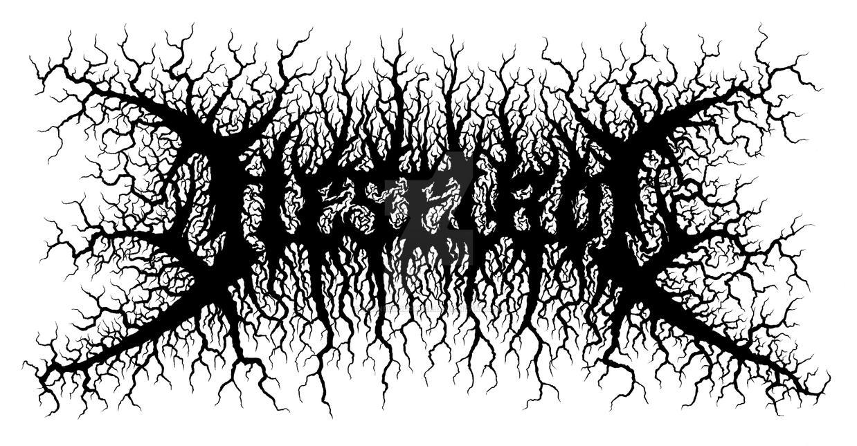illegible black metal logo - photo #40