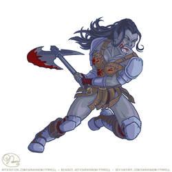 ILLUSTRATION - Orc Warrior