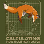 T-SHIRT DESIGN - Calculating How Much Fox to Give