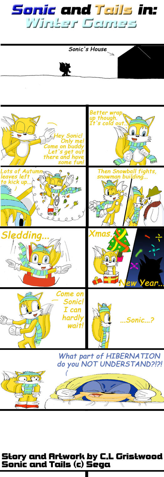 Sonic And Tails Brothers Stories