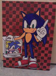 Cool Sonic Canvas by CLGristwood