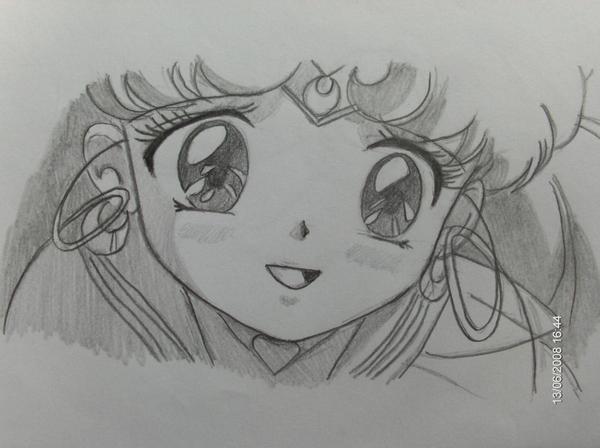 Sailor ChibiMoon by kaleidoangel