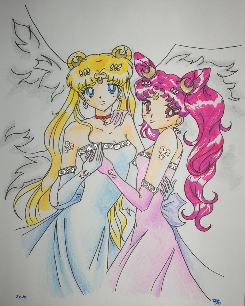 Moon Angels by kaleidoangel