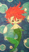 Aaron, The Little Merboy by Mr-Pink-Rose
