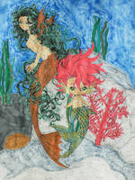 ''I made a friend under the sea...'' by Mr-Pink-Rose