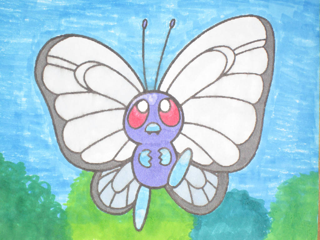 Butterfree by Mr-Pink-Rose