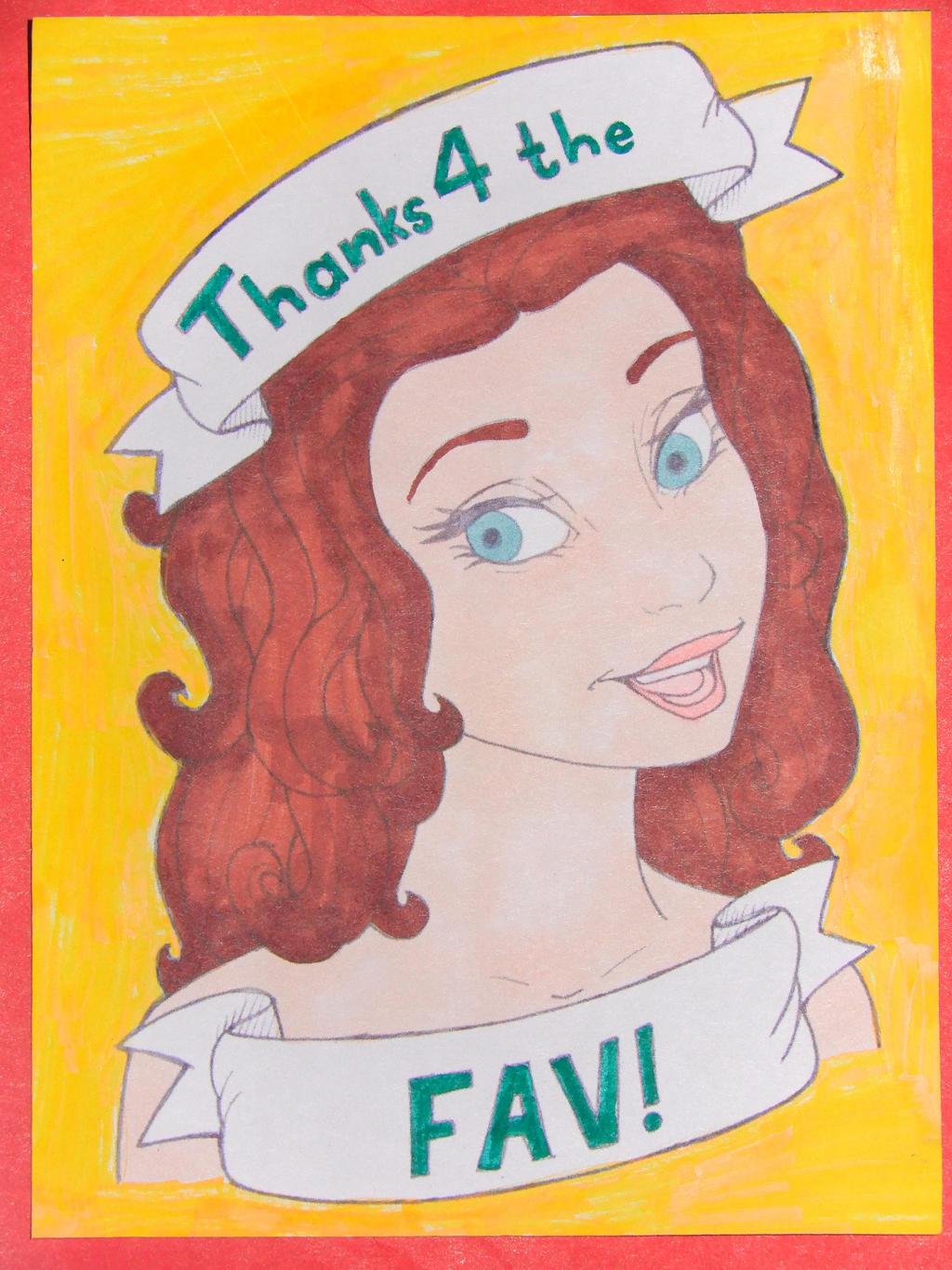 Thanks 4 the fav!