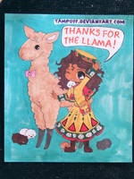 Thanks for the llama! by Mr-Pink-Rose