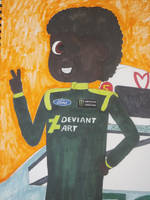 If DA does NASCAR... by Mr-Pink-Rose