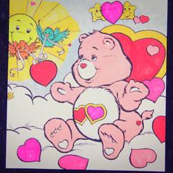Valentine Bear by Mr-Pink-Rose