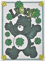 The Lucky Bear by Mr-Pink-Rose
