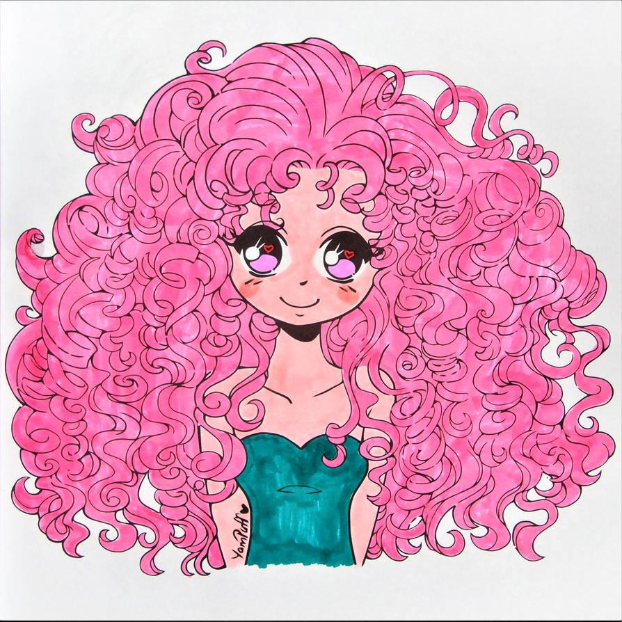 Oh, them crazy curls!