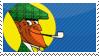 Nikke Knatterton Stamp by Fishwrappe