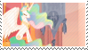 Princess Celestia Stamp by aNamelessGhoul