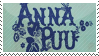 Anna Puu Stamp by Endoskeletalfishes