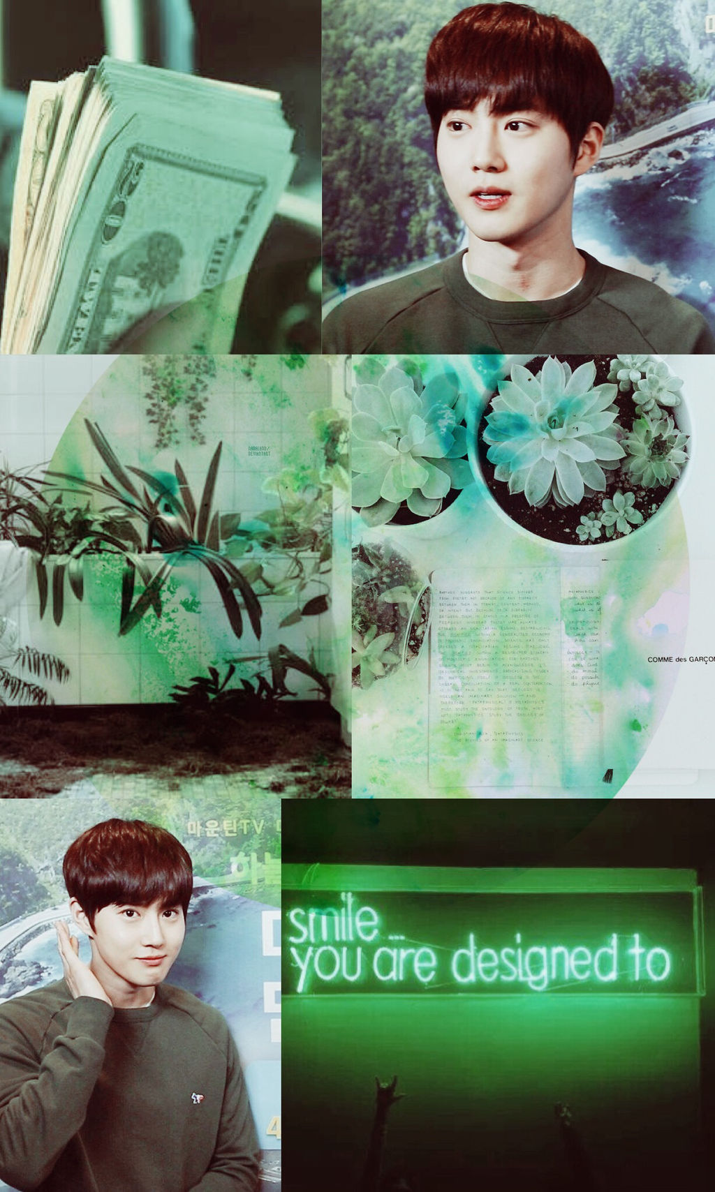 Exo Suho Aesthetic Wallpaper By Nanaland On Deviantart