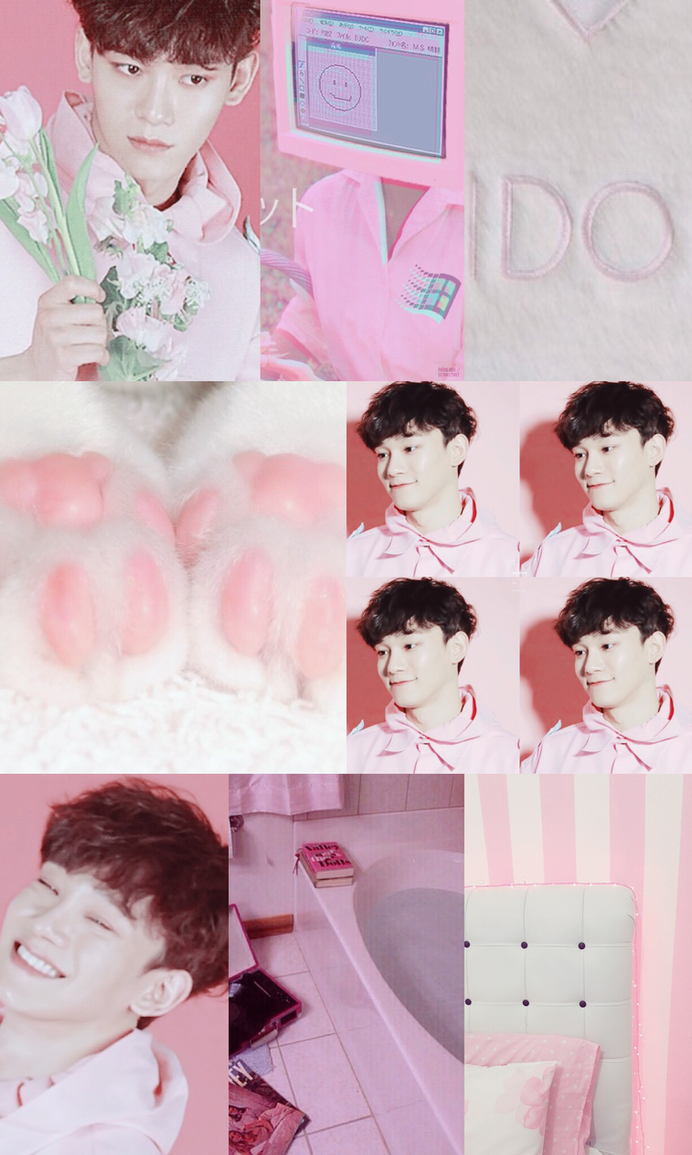 exo chen aesthetic wallpaper by nanaland on deviantart