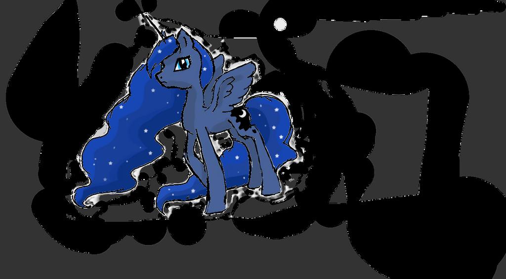 Lullay dear Luna ... by Liliandril