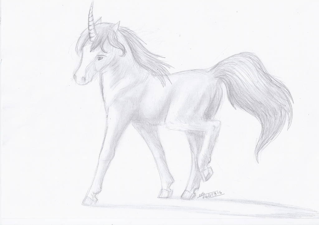 Licorne~ by Liliandril